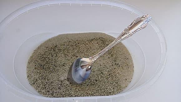 Почему эфиппии в песке