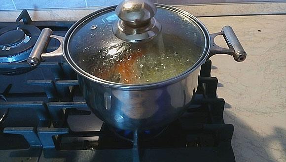 Морковный корм для моих ампулярий